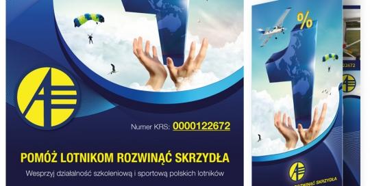 Aeroklub polski - plakat 1%.indd