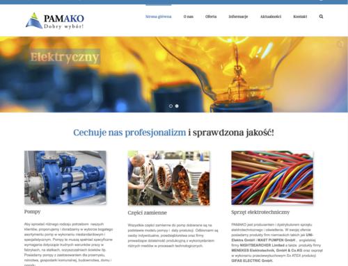 Strona internetowa PAKAKO